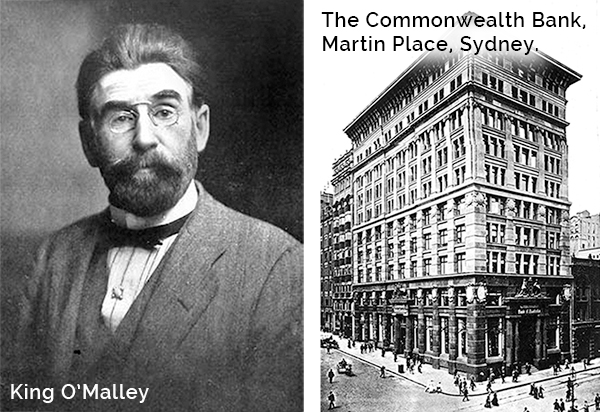 King Omalley and Commonwealth Bank