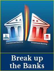 Election 2019 - Break up the banks