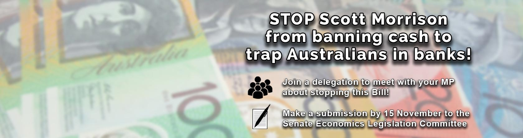 Stop the 'Cash Ban' Bill