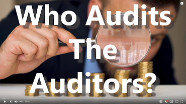 Who audits the auditors?