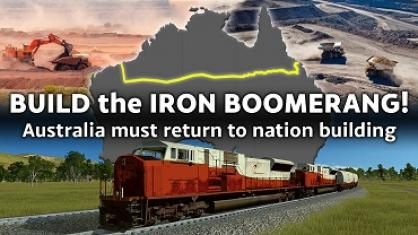 BUILD THE IRON BOOMERANG!