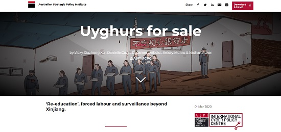 Uyghurs for Sale